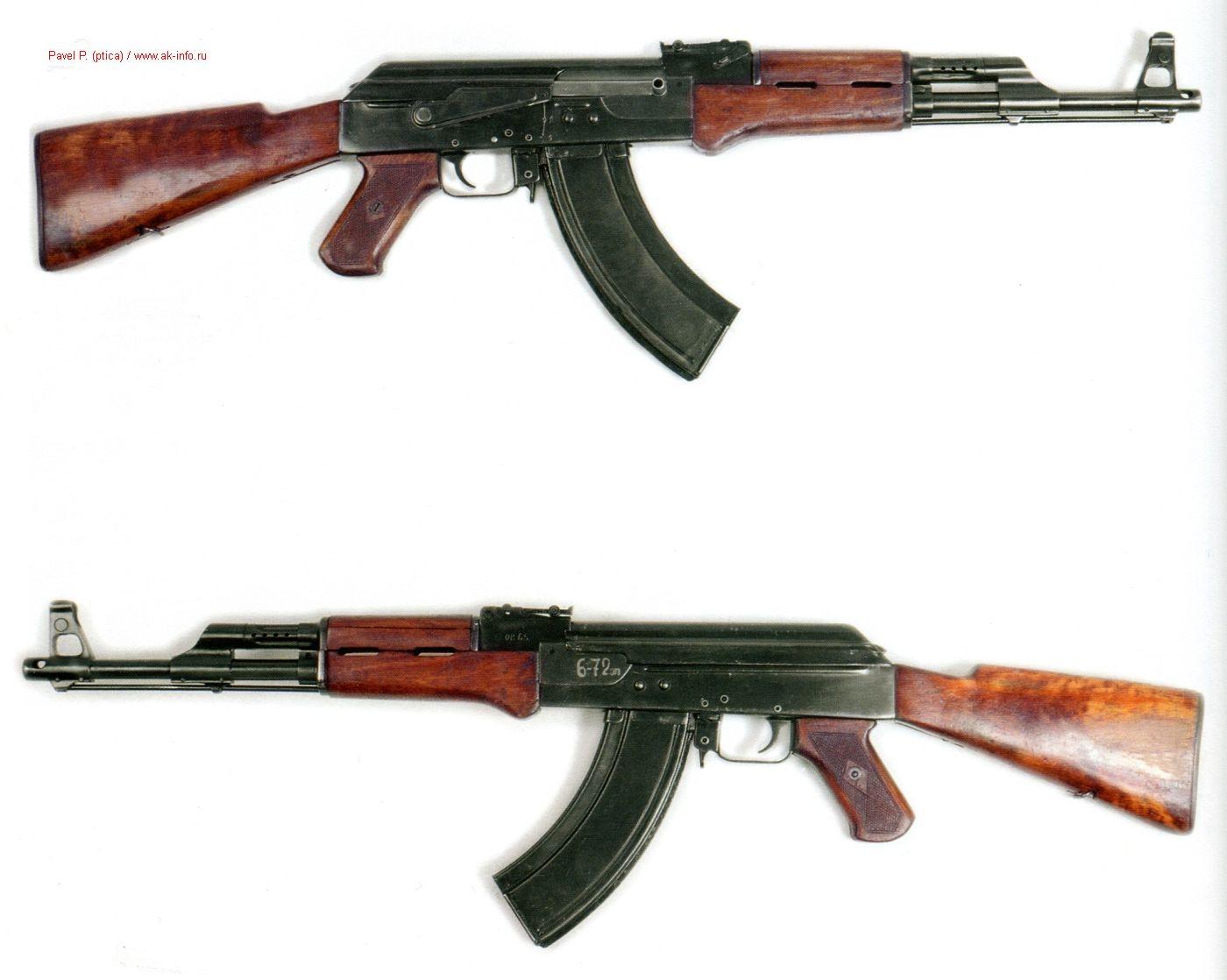 От АК-46 до АК-48 через АК-47. Описание, характеристики ...