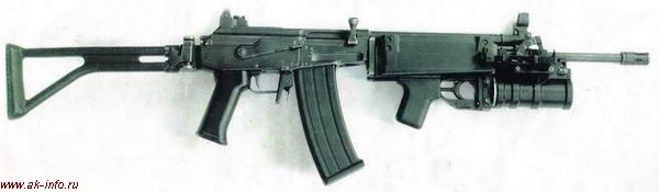 ГП-30У на винтовке Galil (Израиль)