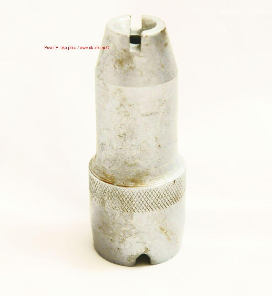 Фотография насадки для холостой стрельбы из АК74