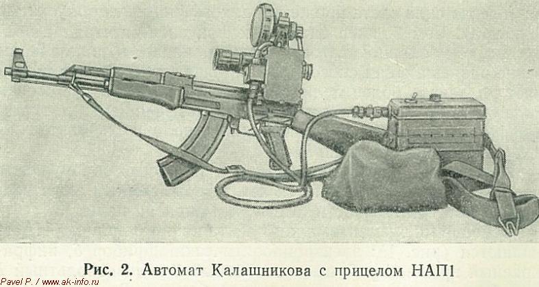 Ночной стрелковый прицел НАП1