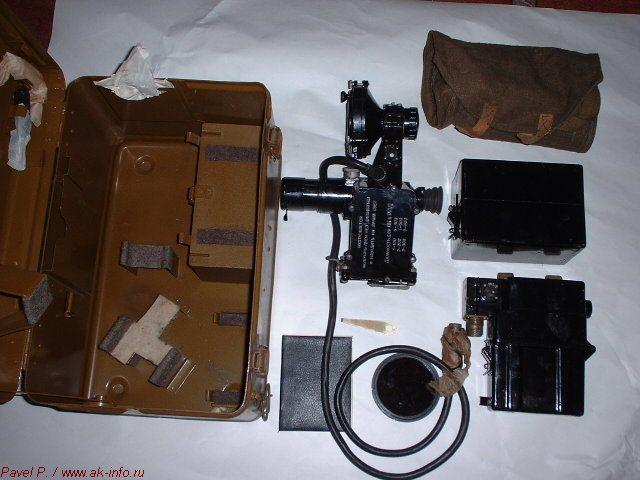 Фотография комплекта прицела НСП-2