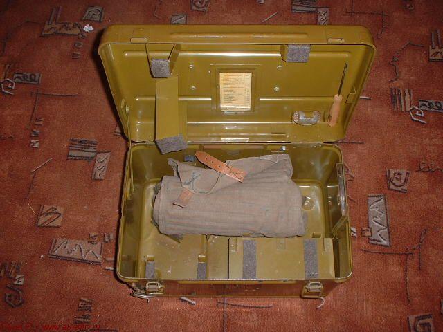 Укладочный ящик и сумка к НСП-2