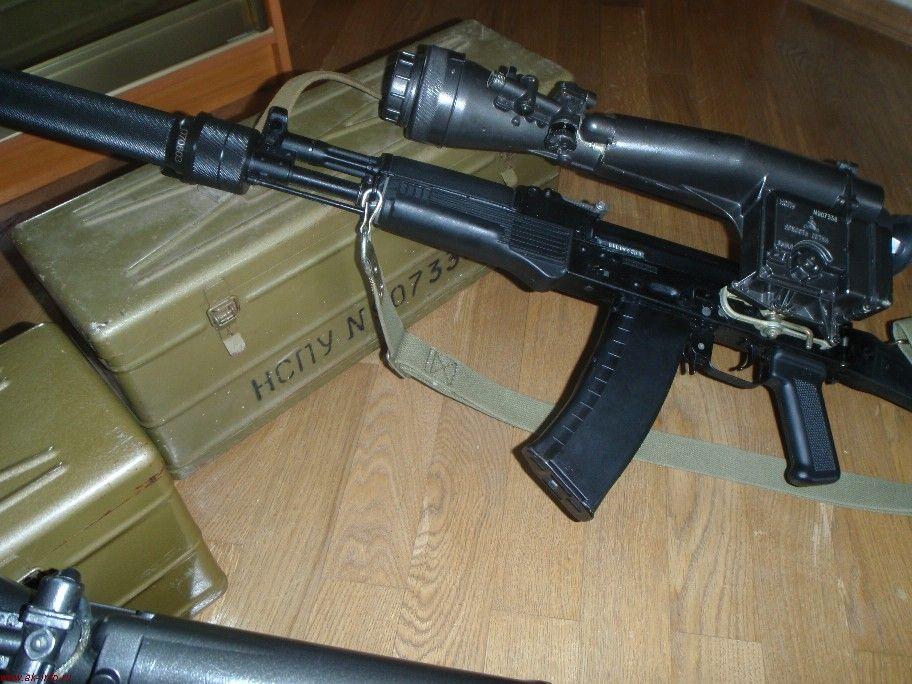 НСПУ на АК105