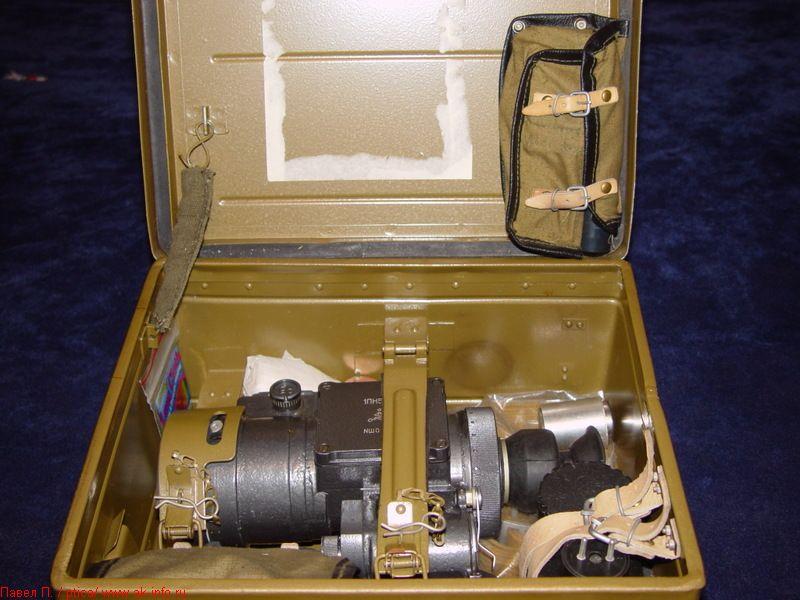 Фотография прицела и укладочного ящика 1ПН51-2