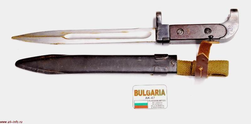 Как сделать штык нож дома