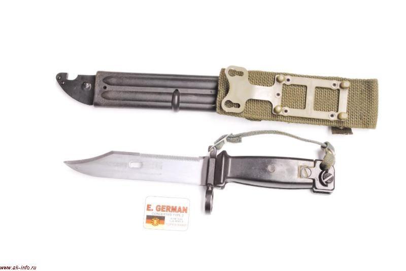 Штык-нож АКМ/АК-74 для винтовки G36 ГДР