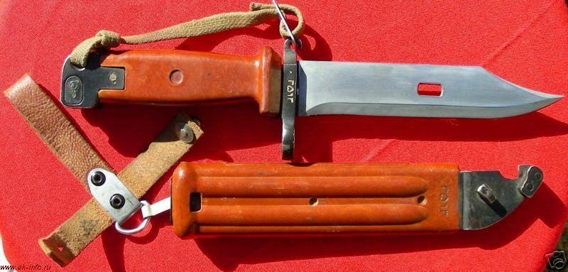 Как сделать штык нож ак