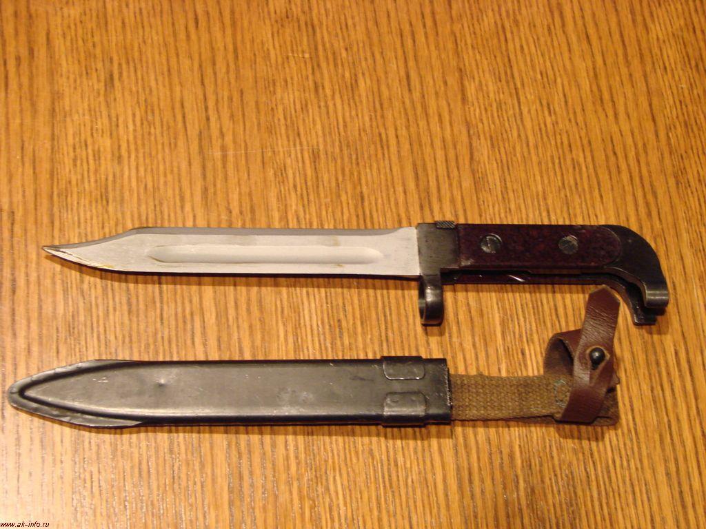 Штык-нож АК (АК47) с лезвие боуви. КНДР