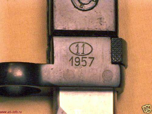 Штык-нож для АК модель 1957 Польша