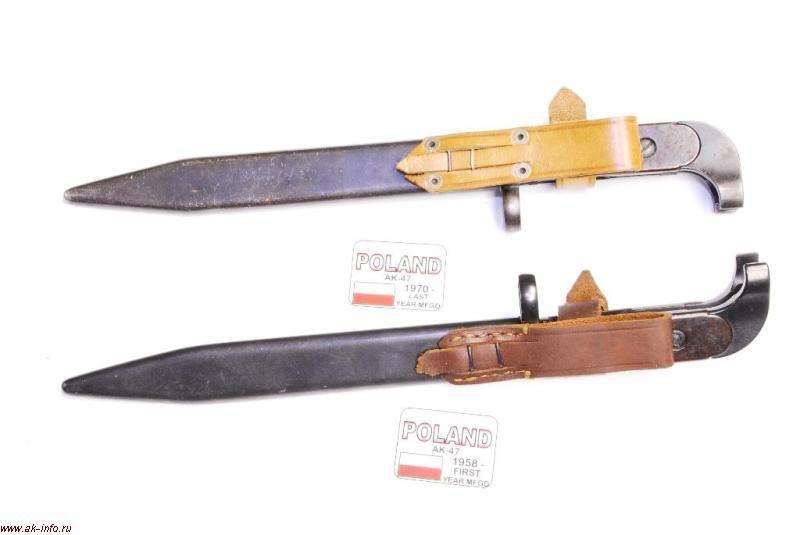 Штык-нож для АК модель 1958 Польша