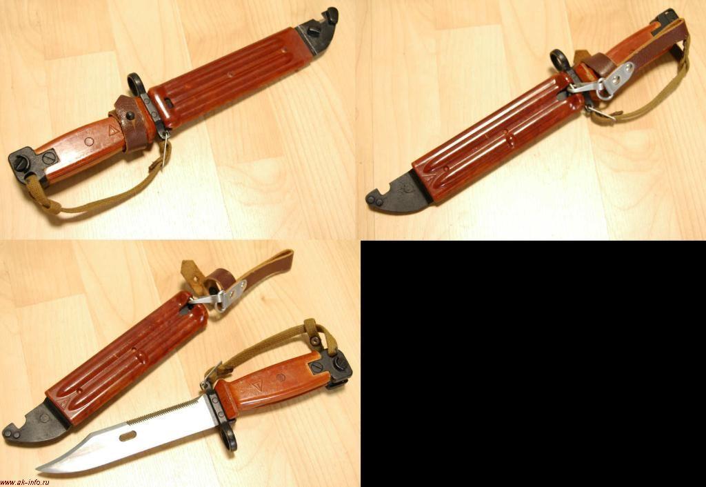 Штык-нож АК 6Х4 СССР. Дубли клейм