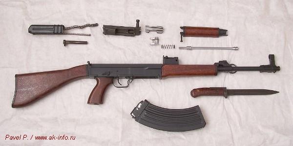 Разборка vz.58