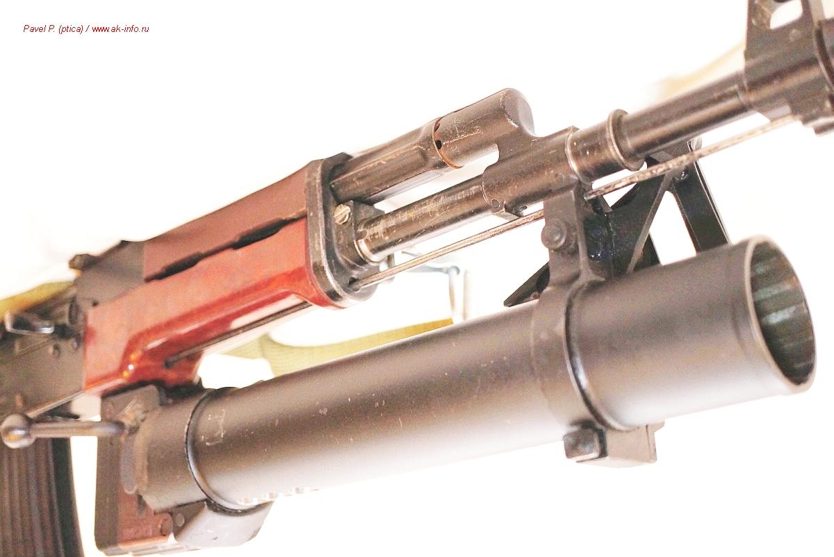 Pallad. Karabinek-granatnik wzór 1974. Стрелково-гранатометный комплекс kbkg wz.1974