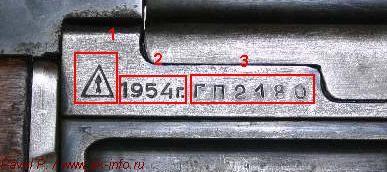 Основная схема прочтения и трактовки клейм, маркировок, номера автоматов Калашникова АК и АКС (т.н. АК47 и АК47С)