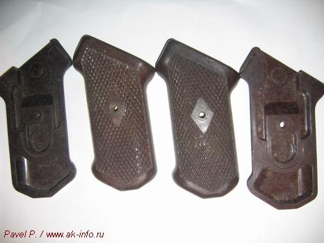 Фотографии пистолетной рукоятки АК тип-1