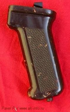 Фотографии пистолетной рукоятки АК74 Ижмаш