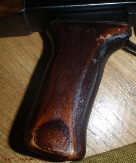 Фотографии пистолетной рукоятки АК74 опытная